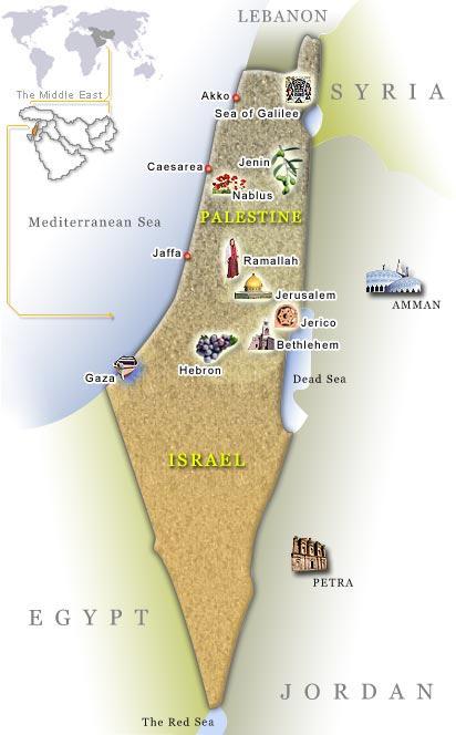 イスラエルとパレスチナの情勢やイスラエル周辺国の政治状況、そしてわたし... 2017聖書の旅・
